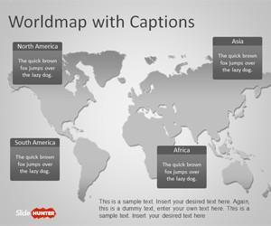 Worldmap PowerPoint Template